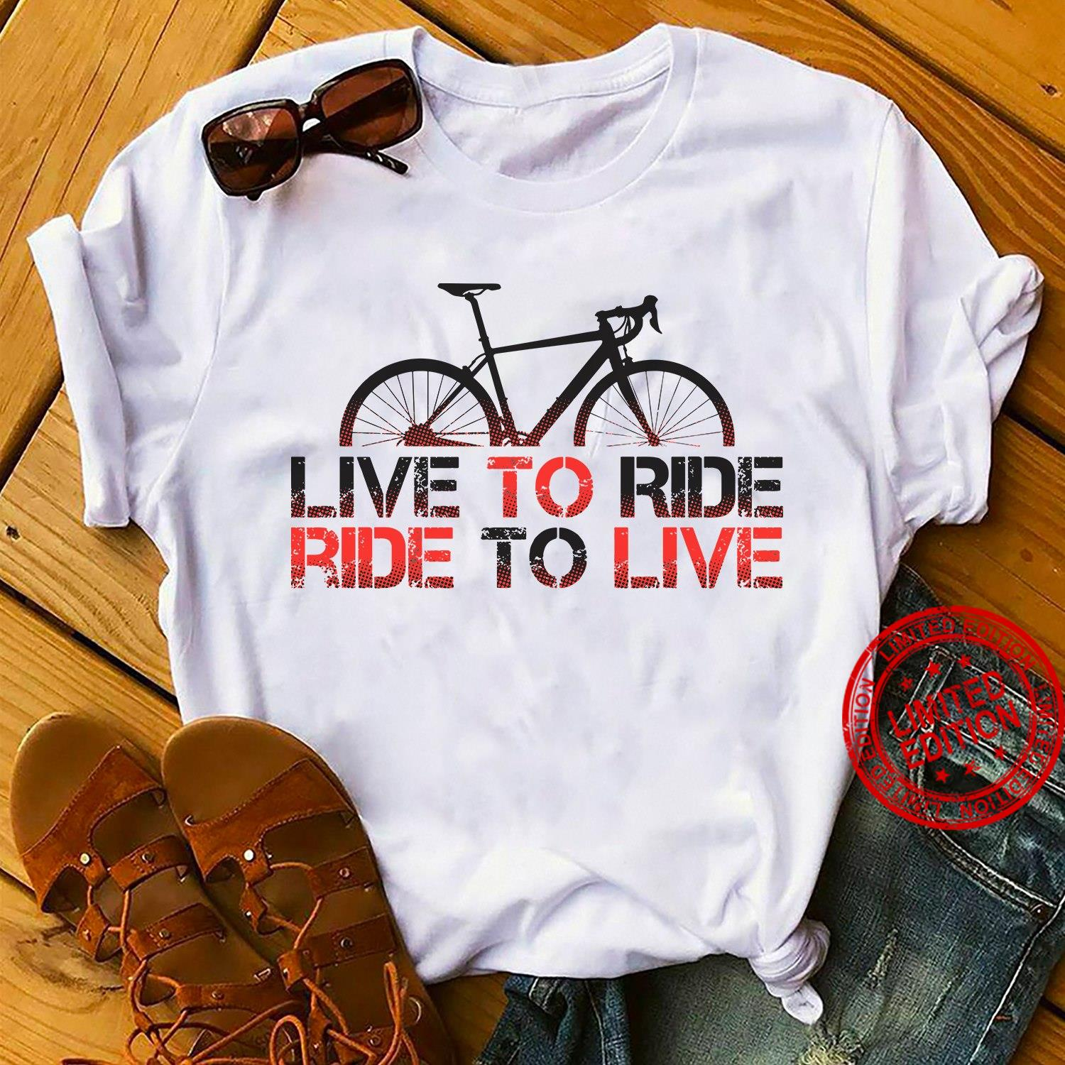 Live To Ride Ride To Live Shirt