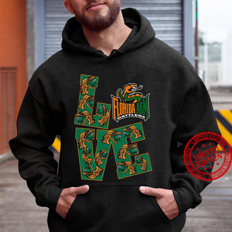 Love Florida A&M Rattlers Shirt hoodie