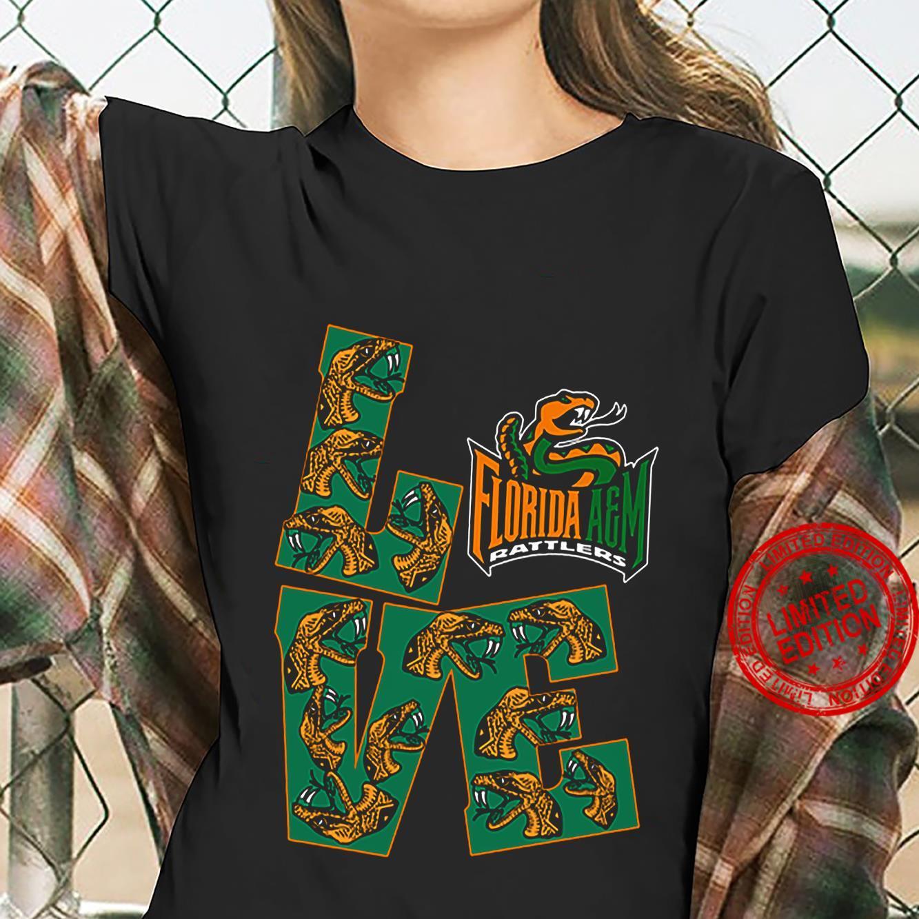 Love Florida A&M Rattlers Shirt ladies tee