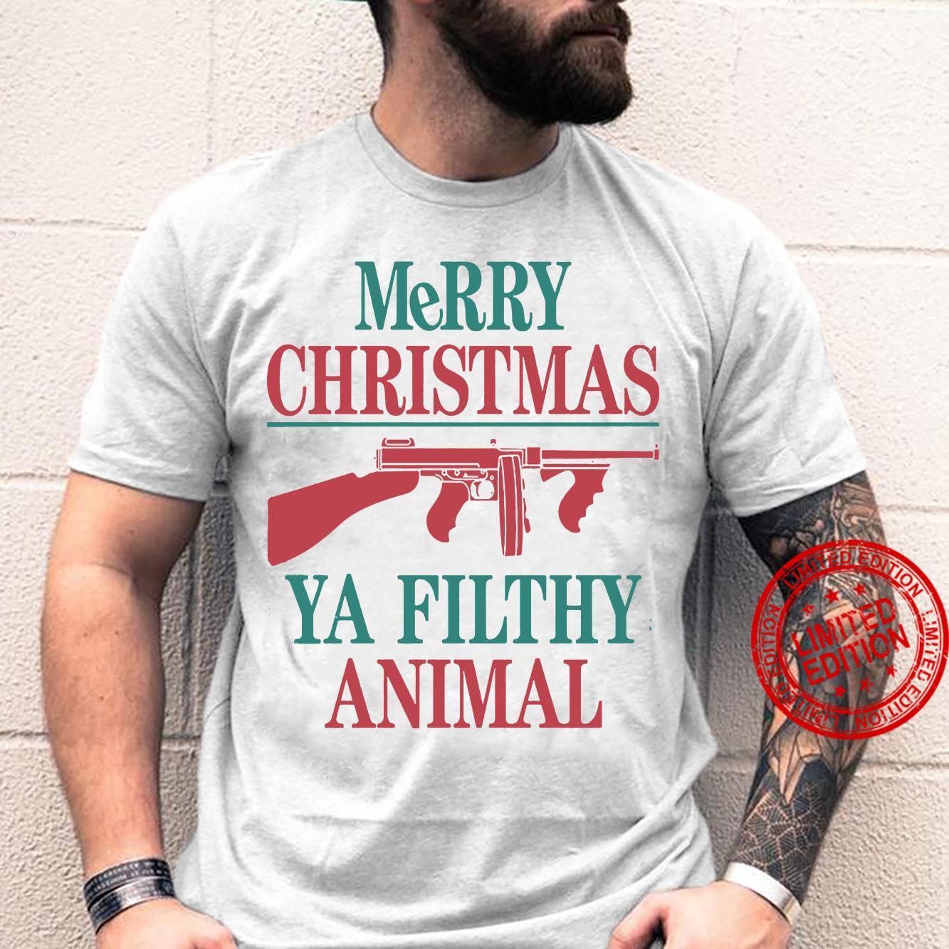 Merry christmas ya filthy animal Men T-Shirt