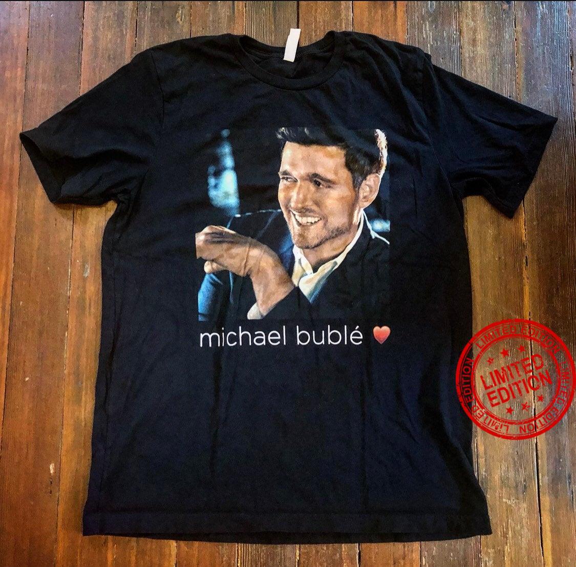 Michael Buble Concert Tour Shirt