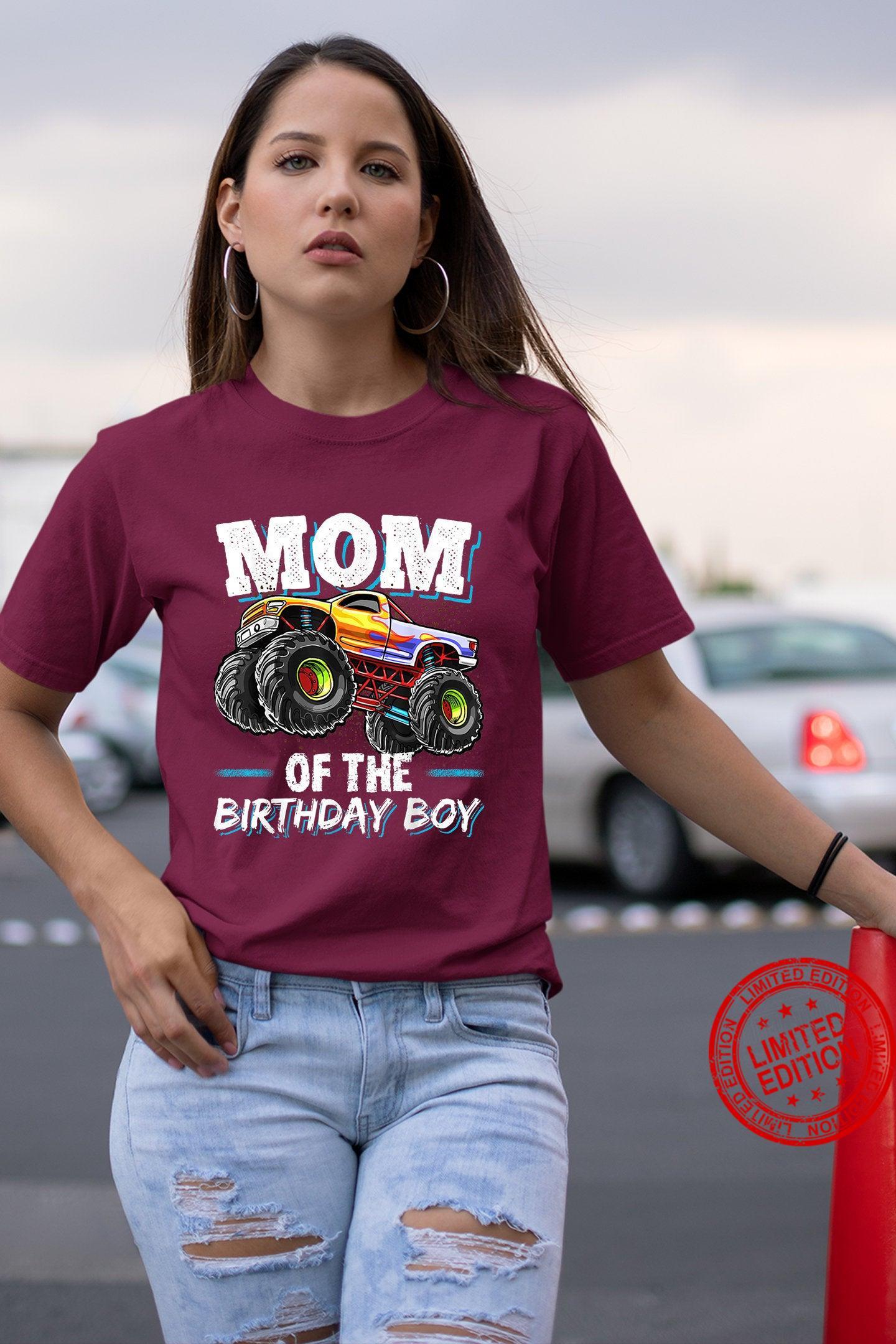 Mom Of The Birthday Boy Funny Shirt