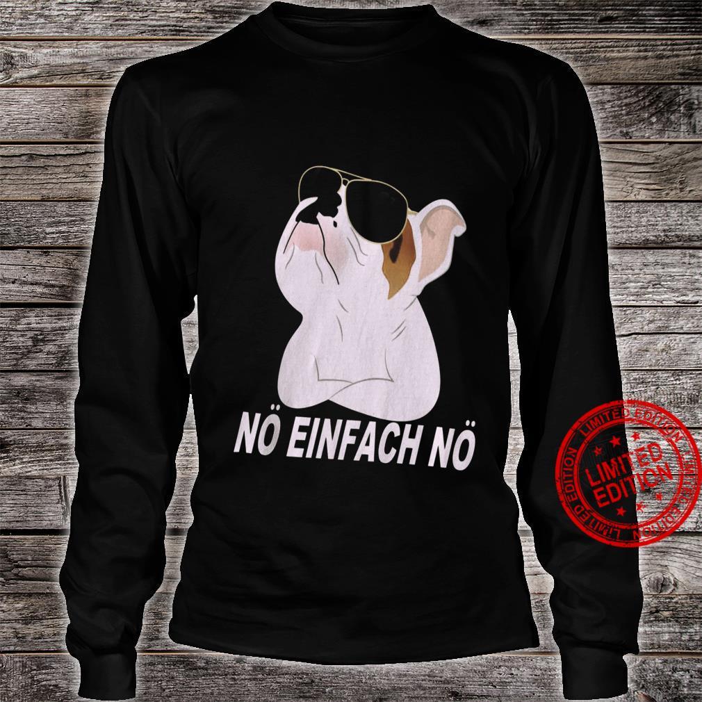 No Einfach No Shirt long sleeved