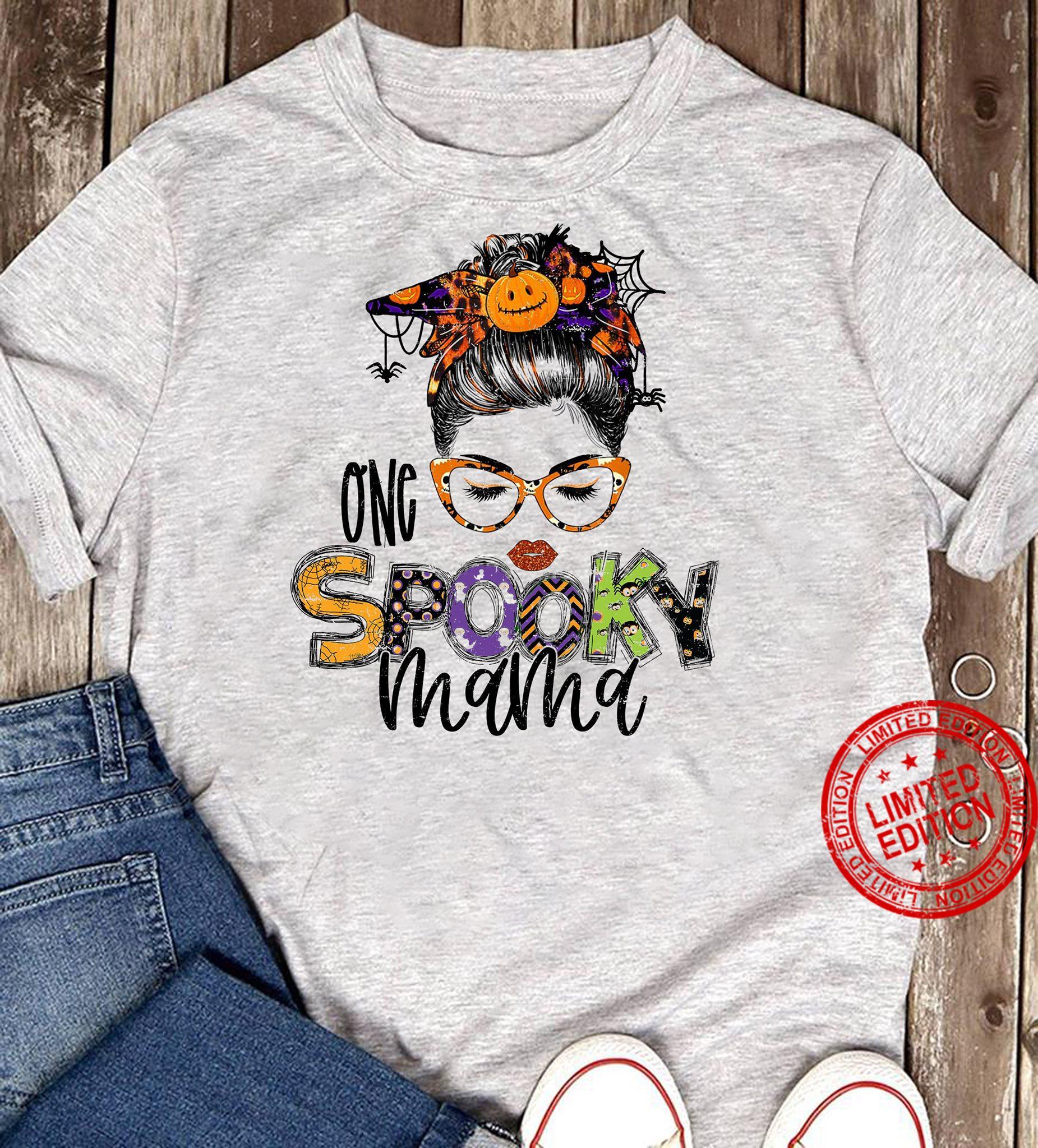 One Spooky Mama Shirt