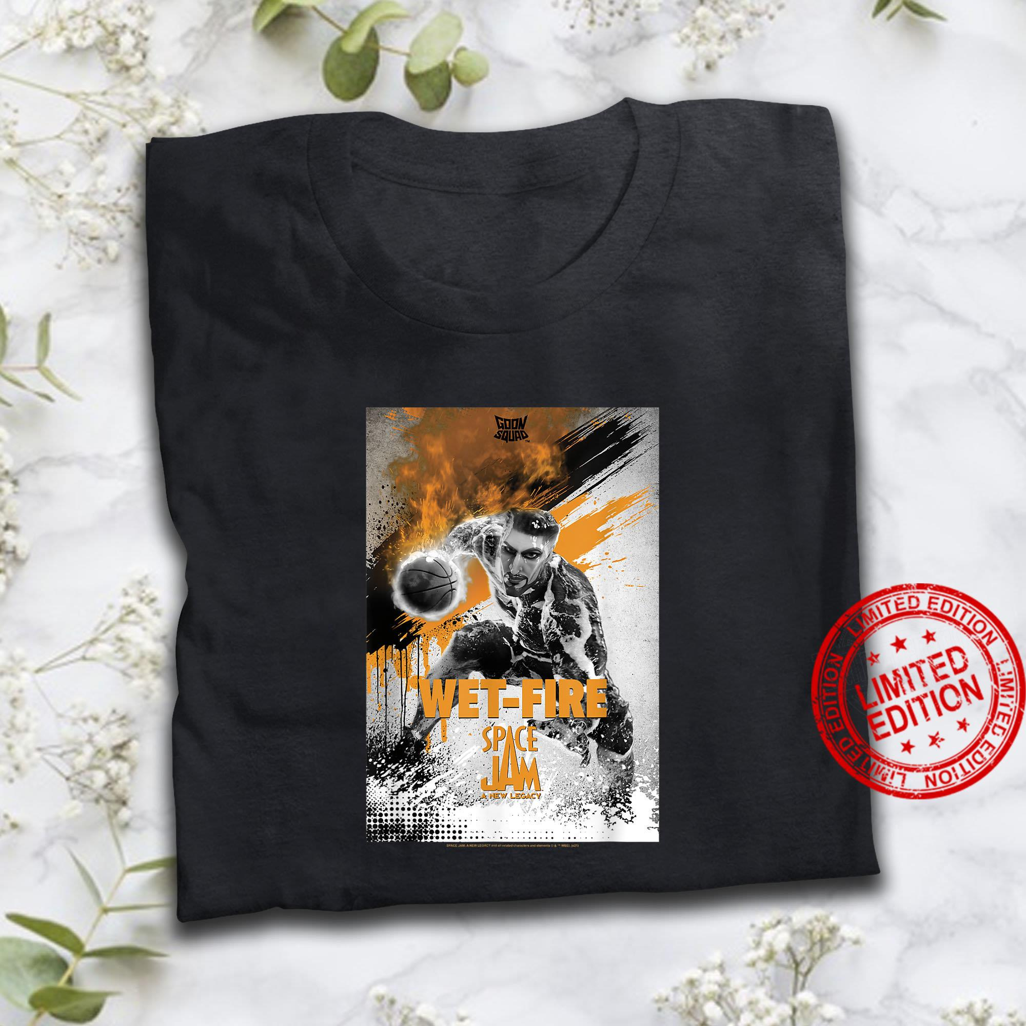 Space Jam A New Legacy Goon Squad Wet-Fire Poster Shirt
