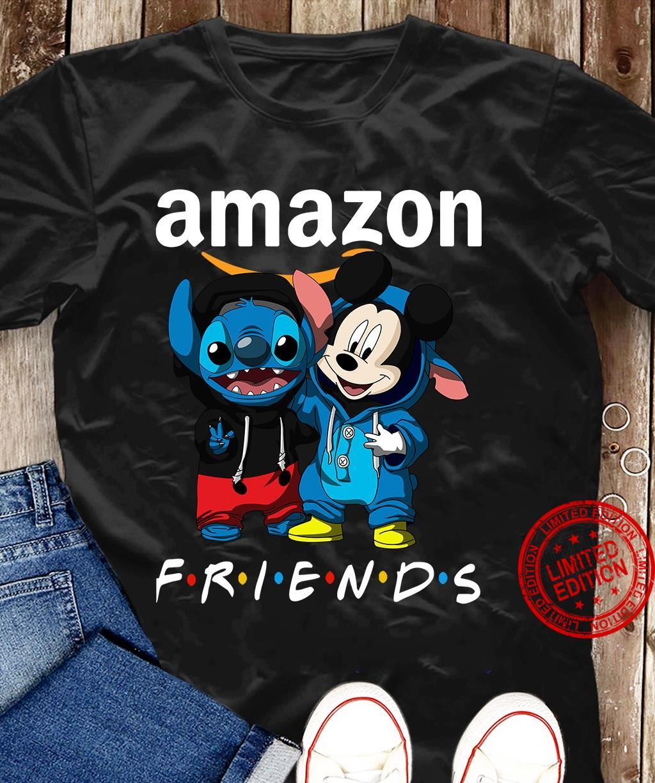 Stitch And Mickey Amazon Friends Shirt