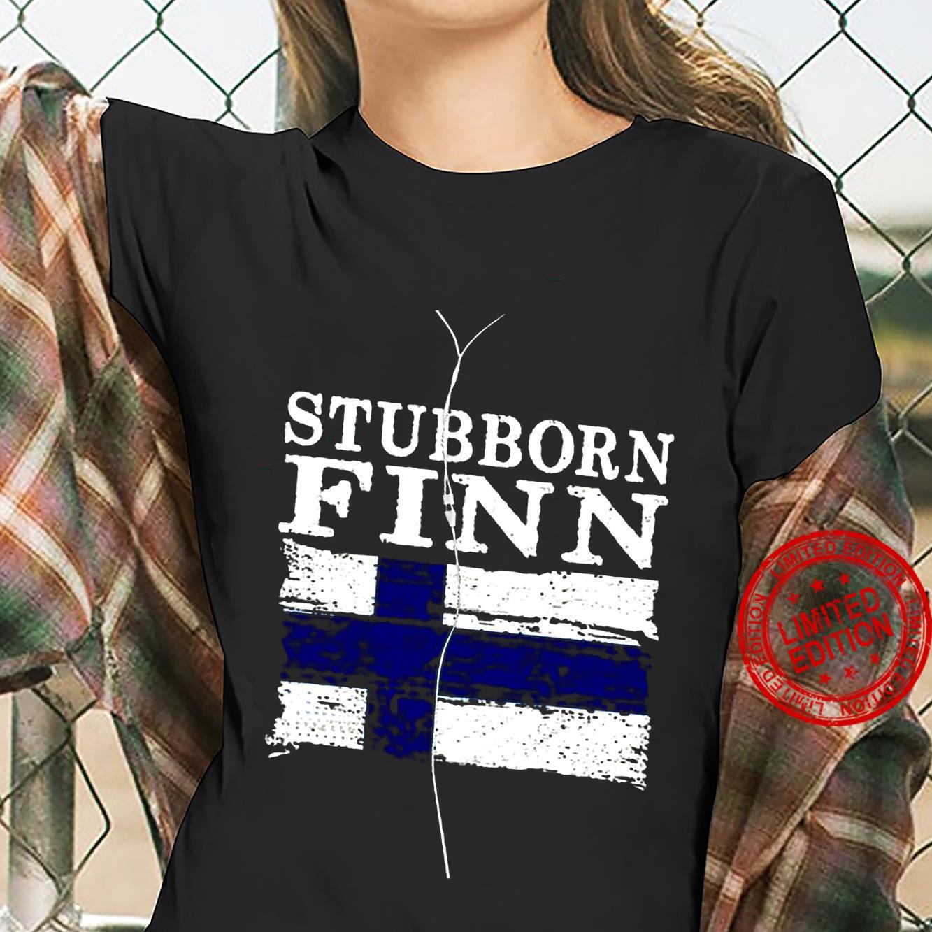 Stubborn Finn Shirt ladies tee