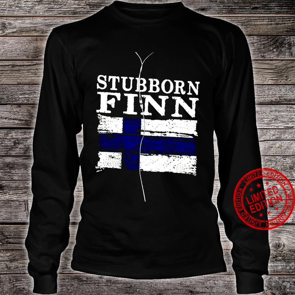 Stubborn Finn Shirt long sleeved