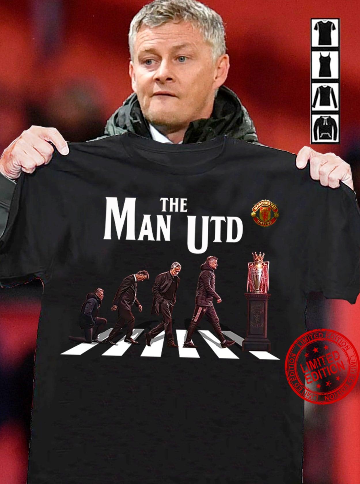 The Man Utd Abbey Road Shirt