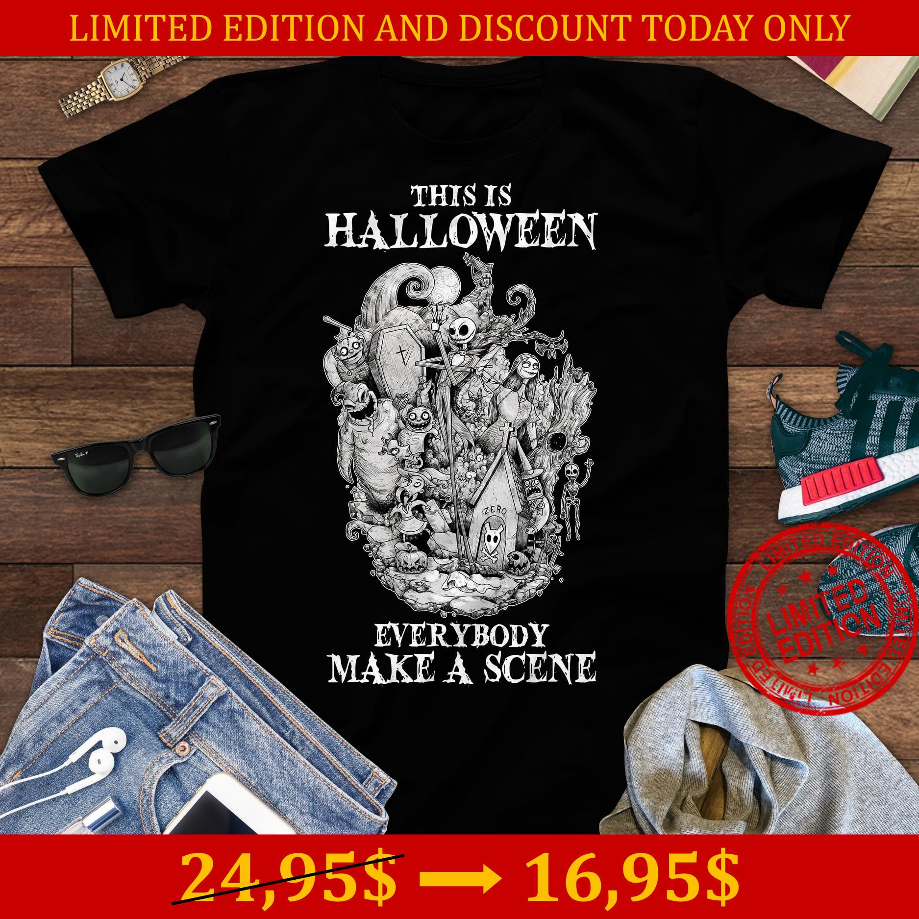 This Is Halloween Everybody Make A Scene Shirt