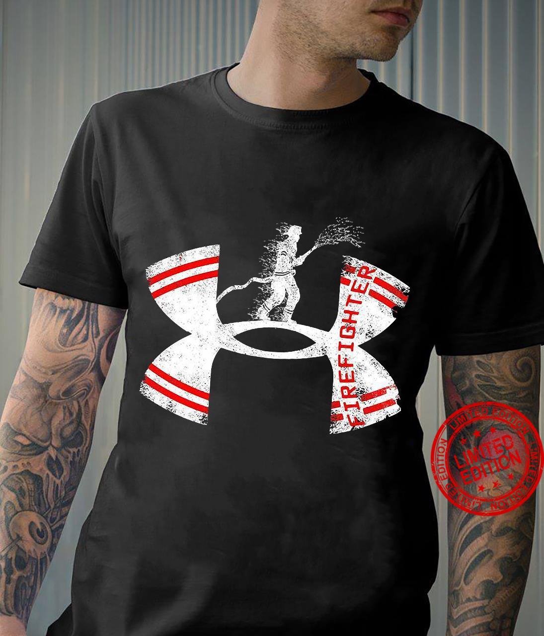 Under Armour logo Firefighter shirt