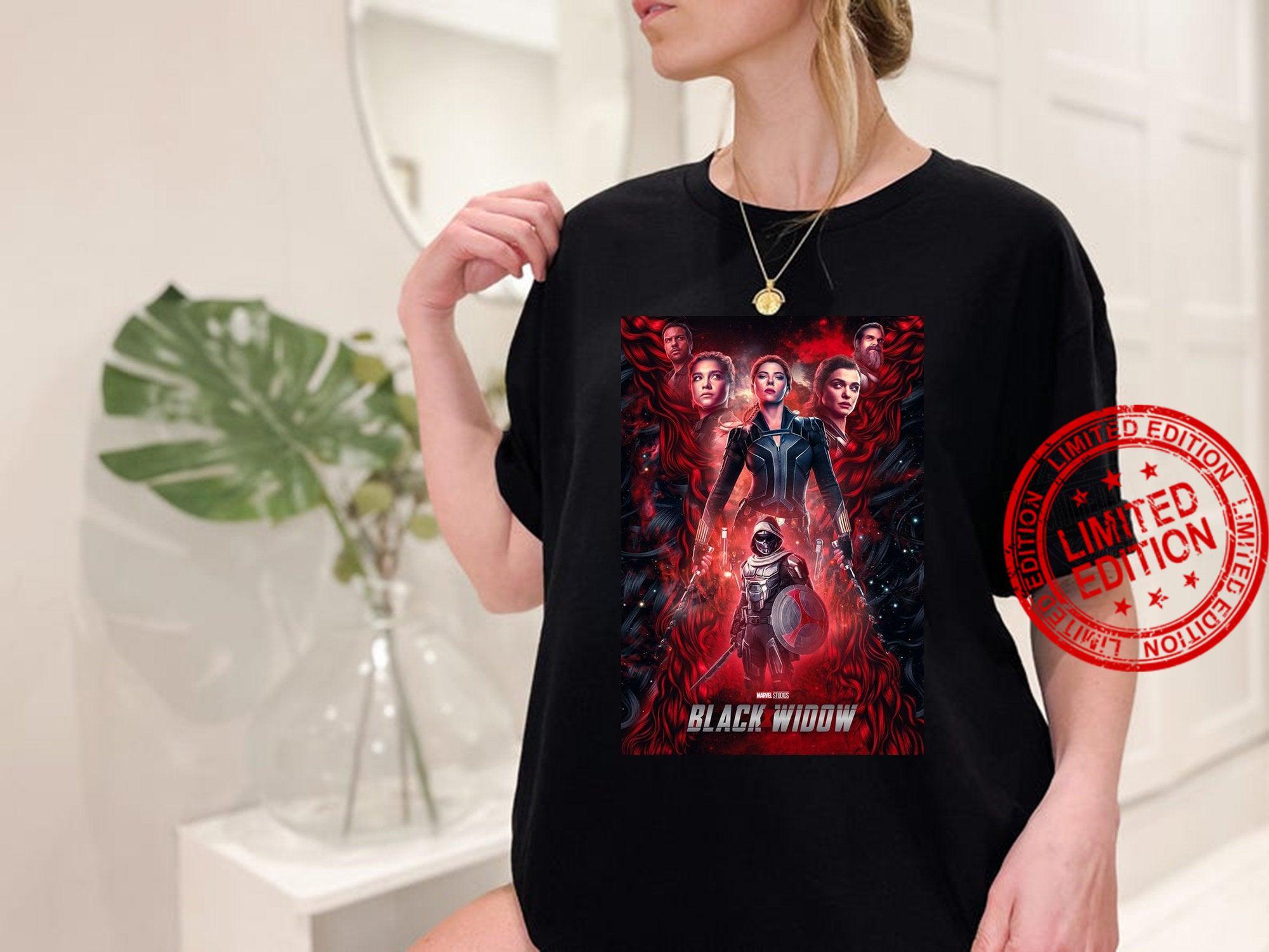 Vintage Black Widow , Marvel Comics Shirt