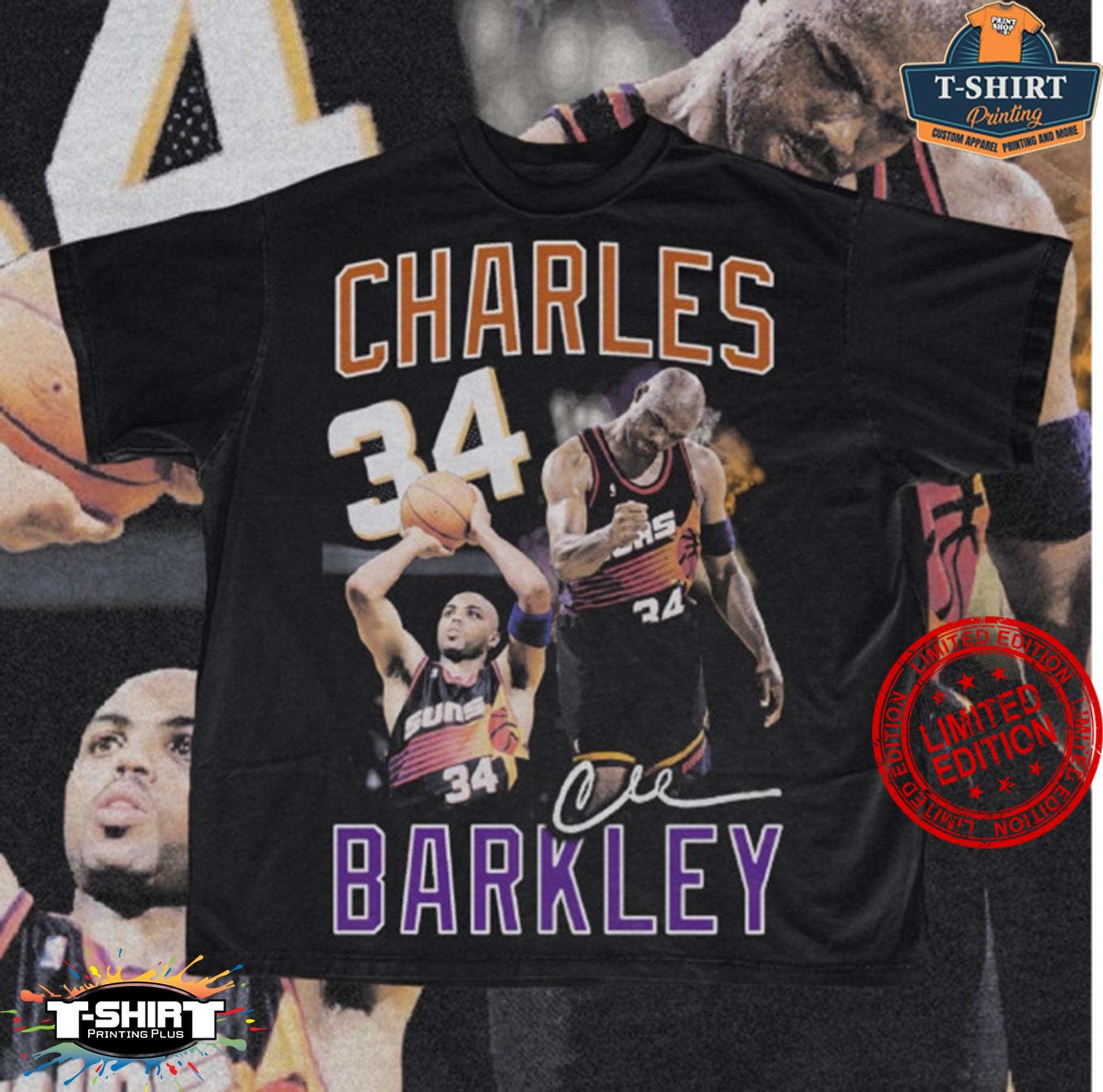 Vintage NBA Charles Barkley Phoenix Suns Vintage Shirt