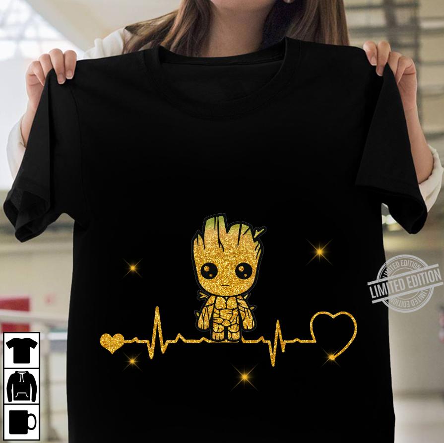 Baby Groot HeartbeatShirt