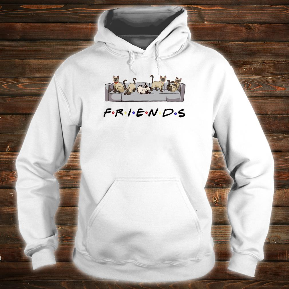 Cats on the sofa friends shirt hoodie