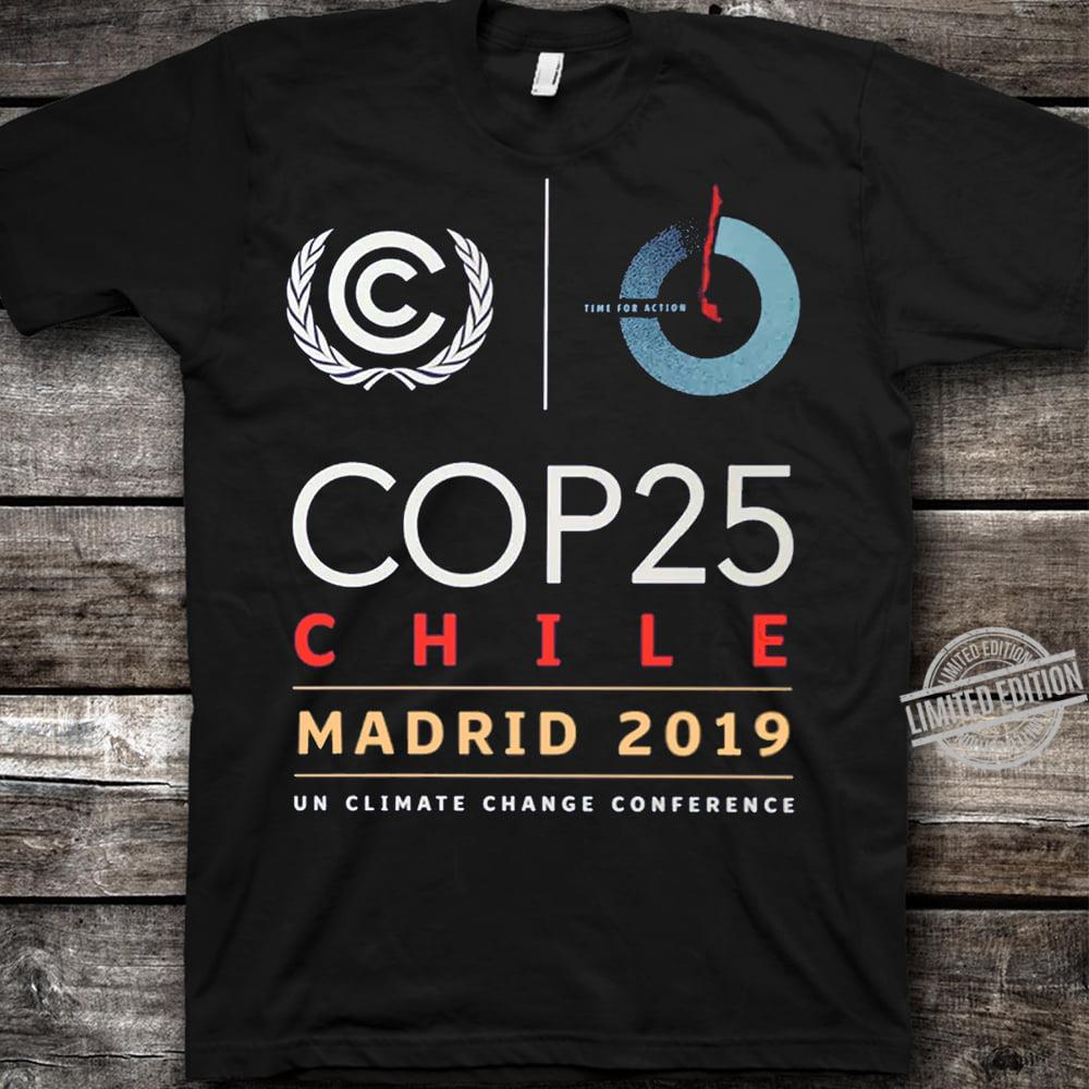 Cop25 Chile Madrid 2019 Un Climate Change Conference Shirt