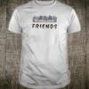 Grey cats on the sofa friends shirt