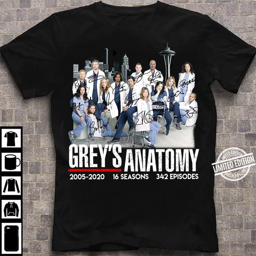 Grey's Anatomy 2005-2020 Shirt
