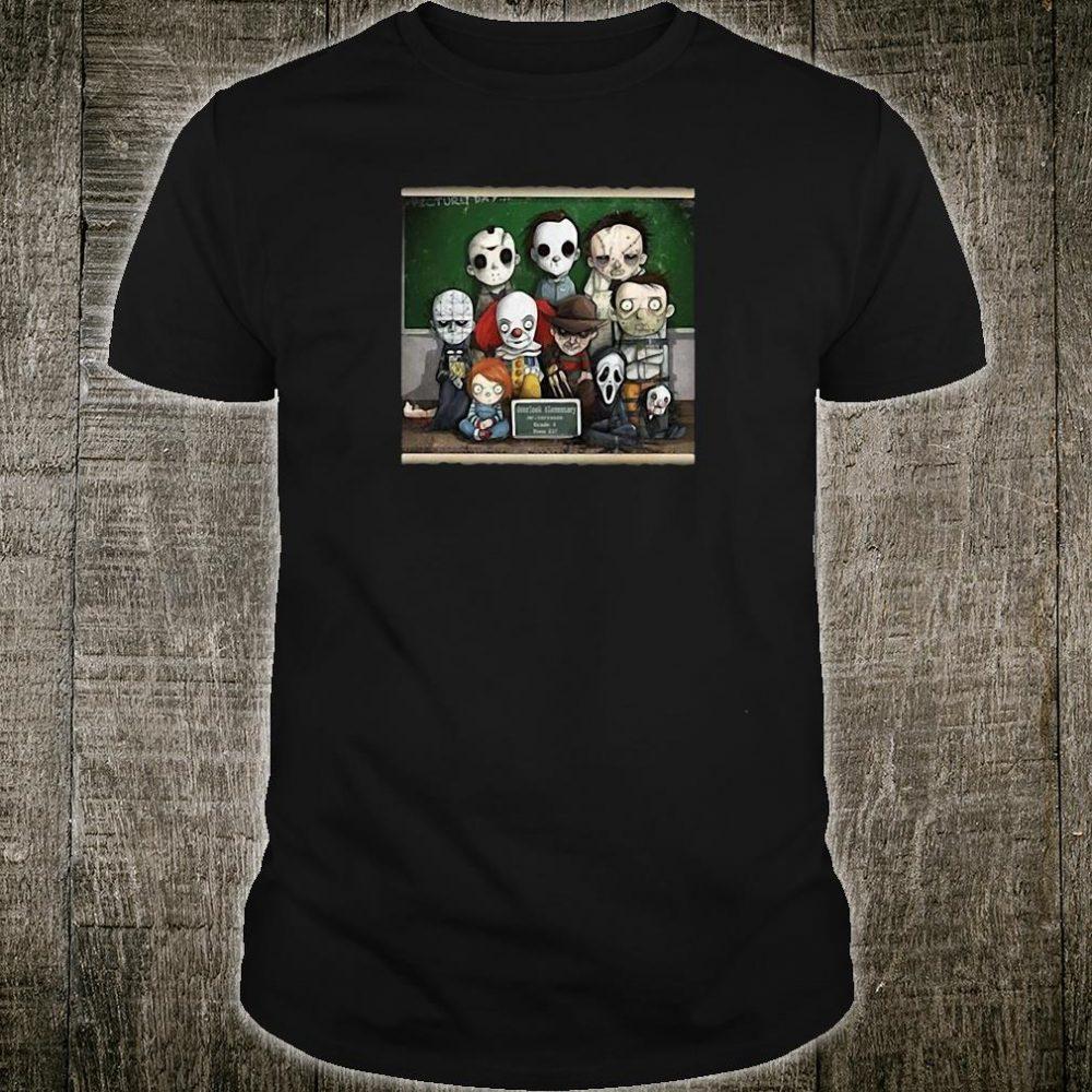 Horror student overlook elementary school shirt
