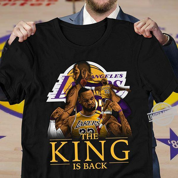 Los Angeles Lakers The King Is Back Shirt