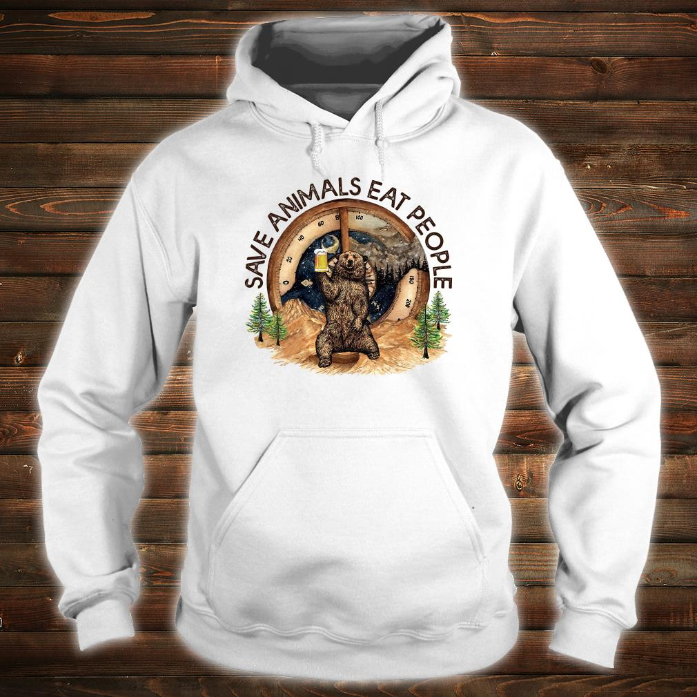 Save animals eat people shirt hoodie