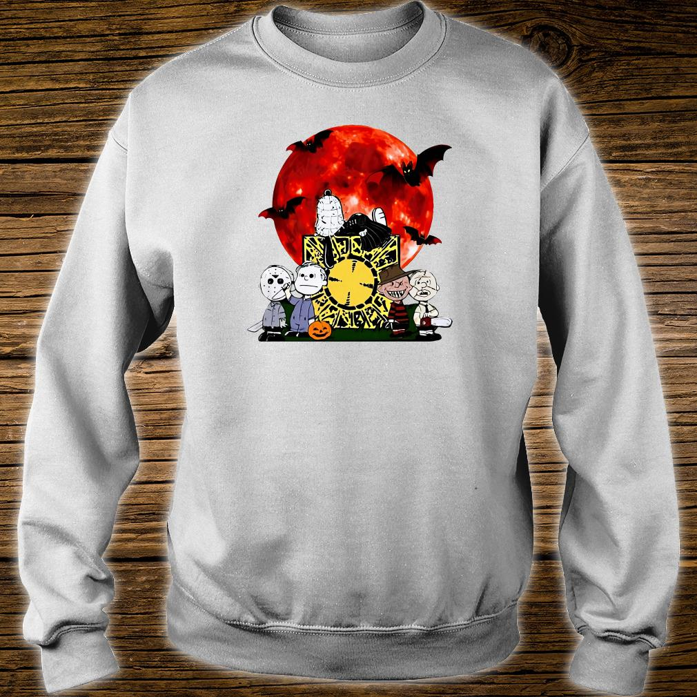 Snoopy horror characters shirt sweater