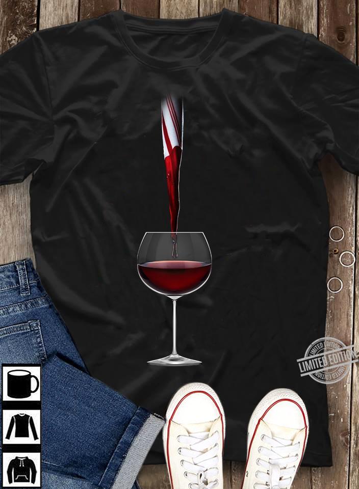 wine black christmas Shirt